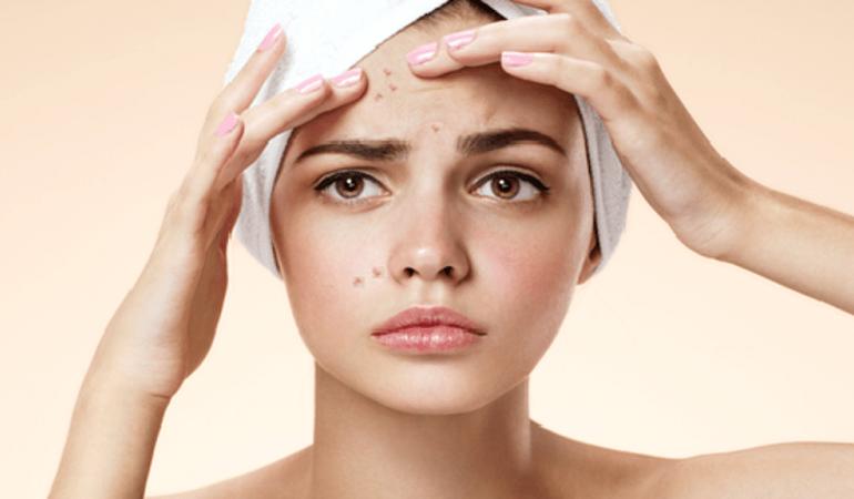 10 نشانه از مشکل پوستی