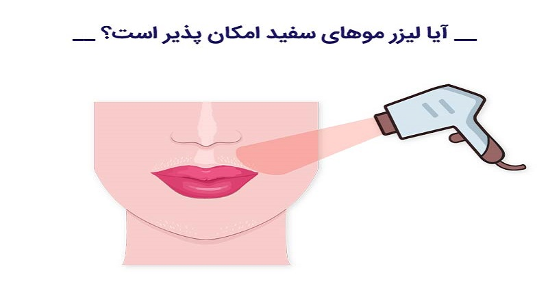 علت موثر نبودن لیزر بر موهای سفید چیست؟ | بهترین لیزر موی زاید اصفهان